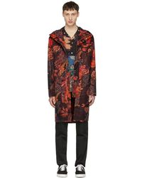 Paul Smith - Red Casual Zip Coat - Lyst