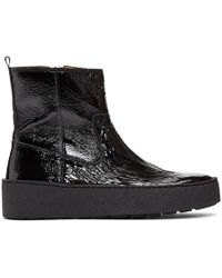 Won Hundred - Black Ramona Platform Boots - Lyst