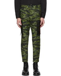 DSquared² - Green Camo Cargo Pants - Lyst
