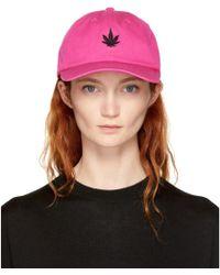 Palm Angels - Pink Leaf Cap - Lyst