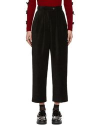 McQ - Black Grandpa Trousers - Lyst