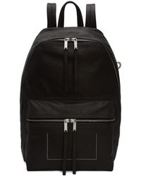 Rick Owens - Black Mini Backpack - Lyst