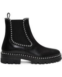 Alexander Wang - Black Spencer Boots - Lyst