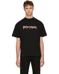 Palm Angels - T-shirt noir Die Punk edition Playboi Carti - Lyst