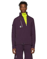 Filling Pieces - Purple Concord Zip Pullover - Lyst