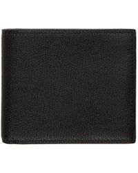 Valextra - Black 6cc Bifold Wallet - Lyst
