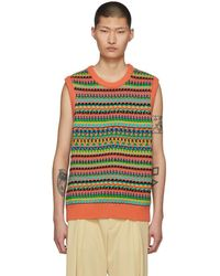 Stella McCartney - Multicolor Knit Vest - Lyst