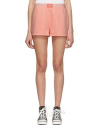Calvin Klein - Pink Monogram Shorts - Lyst