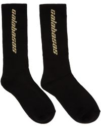 Yeezy - Three-pack Multicolor Calabasas Socks - Lyst