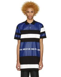 Hood By Air - Tricolor Long Striped Polo - Lyst