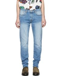 PS by Paul Smith - Blue Tapered Fit Jeans - Lyst