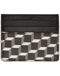 Pierre Hardy - Black And White Cube Card Holder - Lyst