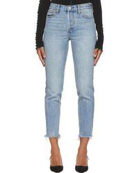 Levi's - Blue Wedgie Jeans - Lyst