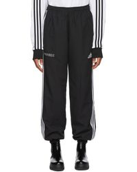 Gosha Rubchinskiy - Black Adidas Originals Edition Logo Lounge Trousers - Lyst