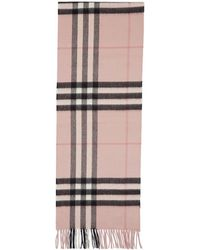 Burberry Beige Cashmere Giant Icon Scarf in Natural - Lyst b855d5c7f8250
