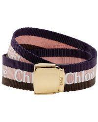 Chloé - Navy Valmy Bracelet - Lyst