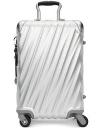 Tumi - Silver Aluminum International Carry-on Suitcase - Lyst