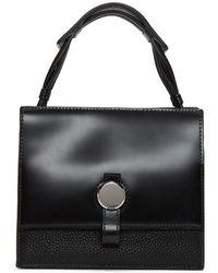 Kara - Black Baby Moon Crossbody Bag - Lyst