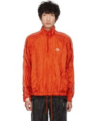 Alexander Wang - Red Half-zip Windbreaker - Lyst