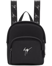 Giuseppe Zanotti - Black Mini Backpack - Lyst