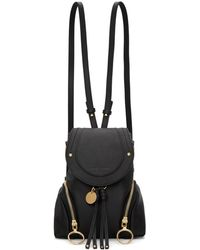 See By Chloé - Black Olga Backpack - Lyst