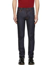 Nudie Jeans - Blue Thin Finn Jeans - Lyst