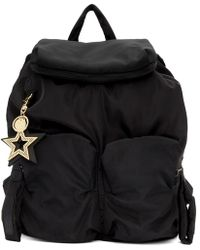 See By Chloé Black Joy Rider Backpack