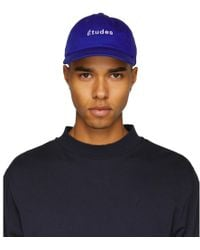 Etudes Studio - Blue Still Logo Cap - Lyst