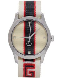 Gucci - White G-timeless Watch - Lyst