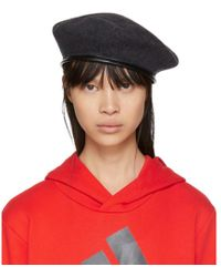Gosha Rubchinskiy - Grey Stephen Jones Edition Military Beret - Lyst