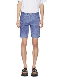 Levi's - Blue 511 Cut-off Denim Shorts - Lyst