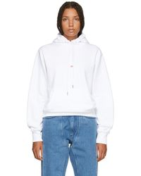 Helmut Lang - White Paris Edition Taxi Hoodie - Lyst