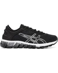 Asics - Black And White Gel-quantum 180 3 Sneakers - Lyst