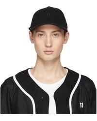Boris Bidjan Saberi 11 - Black New Era Edition Logo Baseball Cap - Lyst