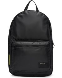 DIESEL - Black F-discover Backpack - Lyst