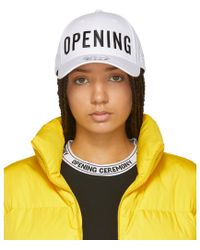 Opening Ceremony - White New Era Edition Embroidered 49forty Cap - Lyst