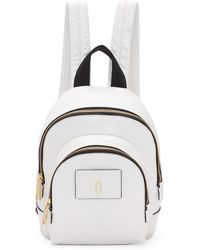 Marc Jacobs | White Mini Double Backpack | Lyst
