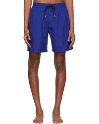 8ea077c77699 Lyst - Burberry Black Daisy Ska Guildes Swim Shorts in Black for Men