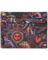 Paul Smith - Black Psychedelic Sun Card Holder - Lyst