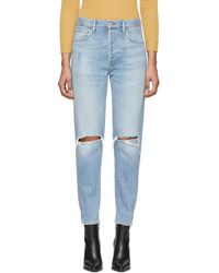 Citizens of Humanity - Blue Olivia High-rise Slim Ankle Jeans - Lyst