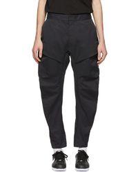 Nike - Black Woven Tech Pack Cargo Pants - Lyst