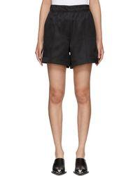 Helmut Lang - Black Pull-on Shorts - Lyst