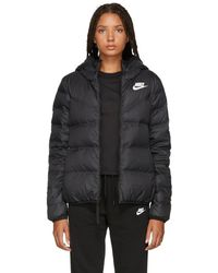 Nike - Reversible Hooded Quilted Shell Down Jacket - Lyst