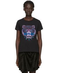 9170729f KENZO - Black Limited Edition Holiday Tiger T-shirt - Lyst