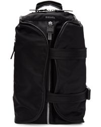 DIESEL - Black F-law Backpack - Lyst