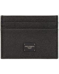 Dolce & Gabbana - Black Dauphine Card Holder - Lyst
