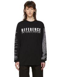 Yang Li - Black Samizdat Reference Long Sleeve T-shirt - Lyst