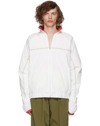 Y. Project - White And Red Layered Jacket - Lyst