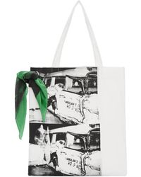 CALVIN KLEIN 205W39NYC - White Museum Tote - Lyst