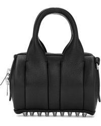 Alexander Wang - Black Leather Baby Rockie Bag - Lyst
